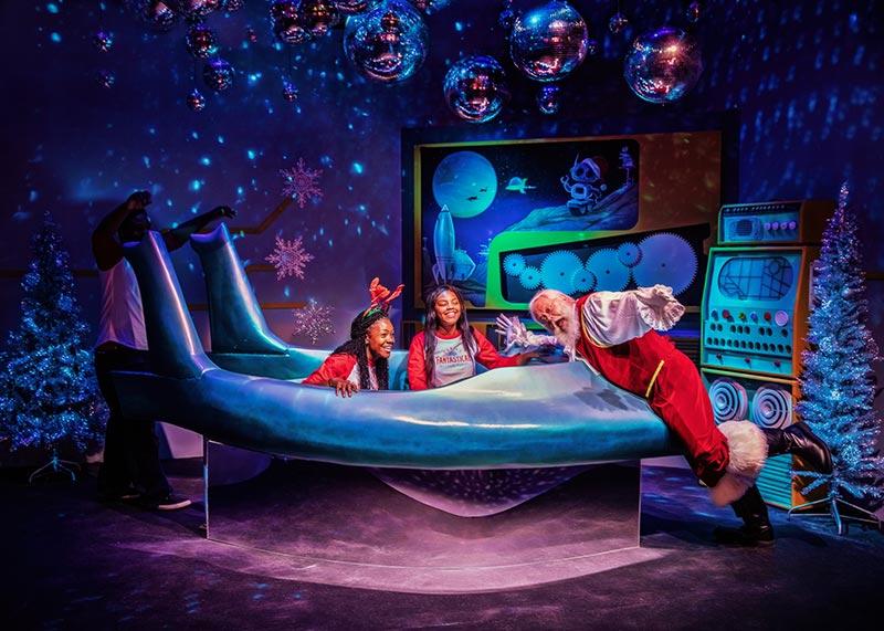Santa's Fantastical Immersive Worlds